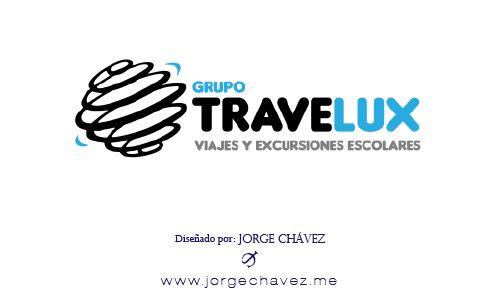 Logotipo diseñado para agencia de viajes.