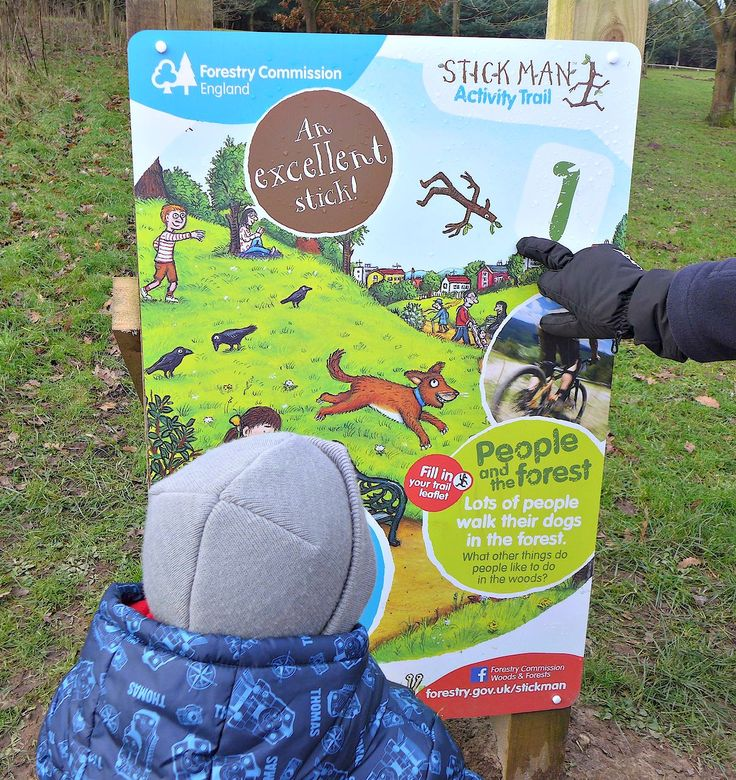 North west days out - Delamere forest stickman trail