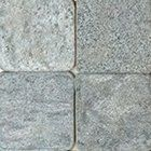 Silver Grey Tumbled Marble Tiles 4x4