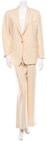 Jean Paul Gaultier Silk Pantsuit on shopstyle.com.au