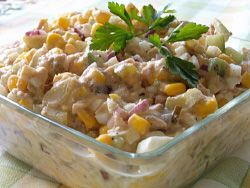Sałatka+z+tuńczykiem:+Jest+to+bardzo+prosta,+a+zarazem+smaczna+sałatka,+którą+można+przygotować+w...