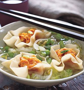 Miso Soup With Sweet Potato Dumplings.. too hard to make during a school week, but maybe for a special occasion this looks delicious: Miso Soups, Food, Potatoes Dumplings, Cooking, Dumplings Recipes, Vegetarian Meals, Sweet Potatoes, Vegetarian Soups, Vegetarian Recipes