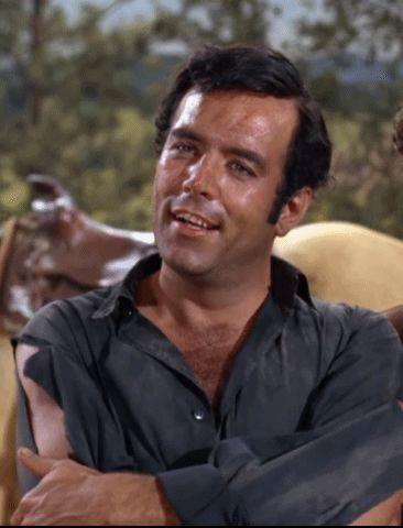"""Adam Cartwright (Pernell Roberts; """"Ponderosa Matador"""", S05E15, 1964)"""