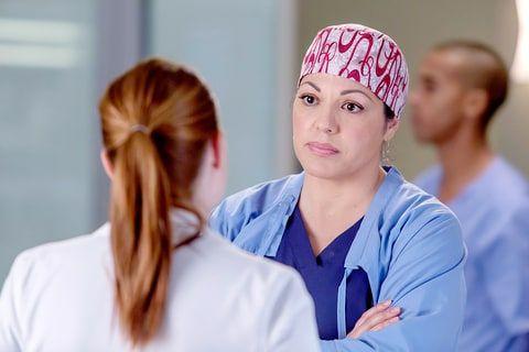 Sara Ramirez on Grey's Anatomy.