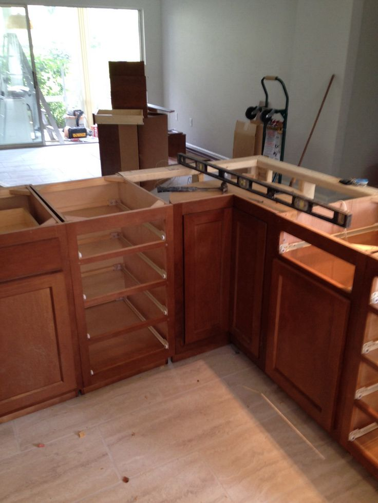 Glenwood beech cabinets pine tree condo renovation pinterest