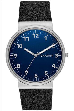 【楽天市場】スカーゲン 腕時計[ SKAGEN 時計 ]スカーゲン 時計[ SKAGEN 腕時計 ]スカーゲン腕時計[ SKAGEN時計 ]アンカー ANCHER メンズ/レディース/ブルー SKW6232 [人気/ブランド/防水/革 ベルト/レザー/北欧/ブルー/シルバー/シンプル/プレゼント/ギフト]:ハイブリッドスタイル