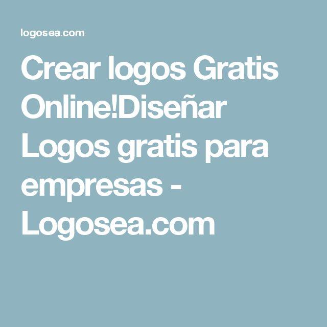 Crear logos Gratis Online!Diseñar Logos gratis para empresas - Logosea.com