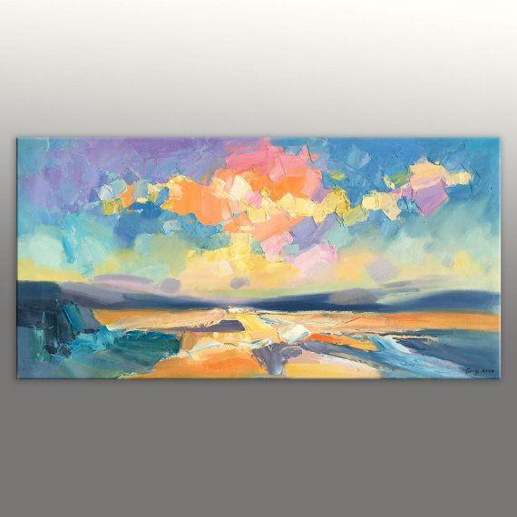 Stampe su tela, tela parete arte, arredamento cucina, pittura a olio originale…