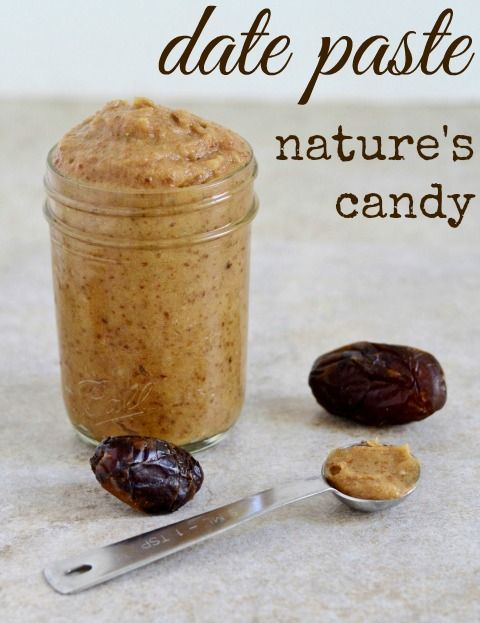 Easy Date Paste Recipe.  Use instead of frosting on cakes and cupcakes. Real Food Real Deals #healthy #recipe #vegan