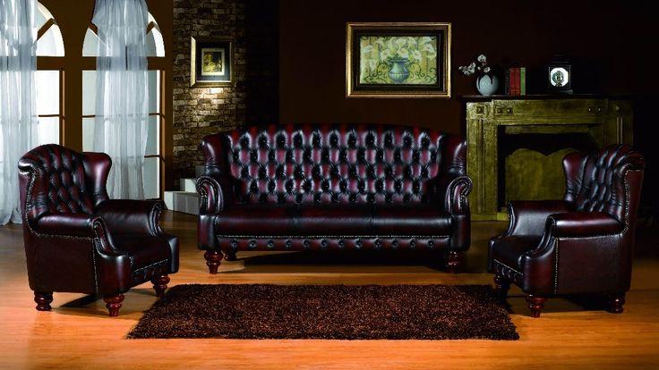 2015 отдыха диван диван честерфилд Новый стиль современный диван натуральная кожа denisty пена гостиная мебель антикварная дизайн купить на AliExpress