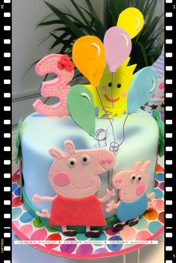 The one with peppa pig