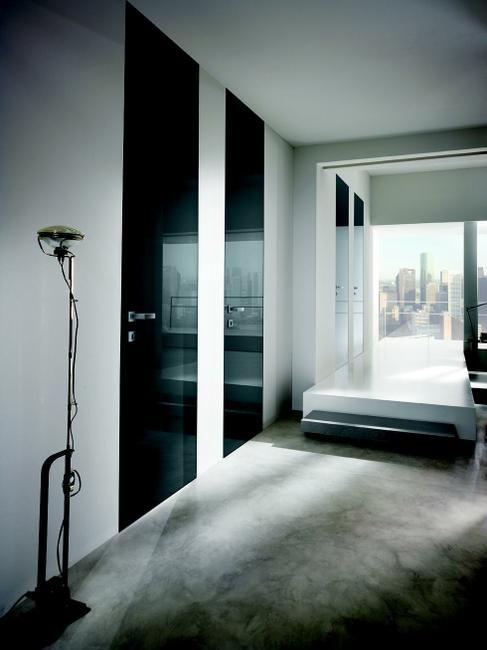16 best portes intérieures design images on Pinterest Indoor gates - pose de porte interieur