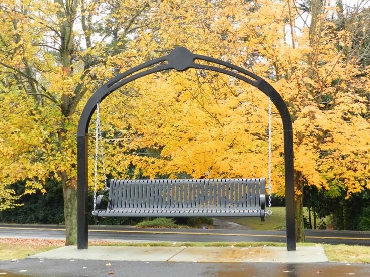 Swinging Park Bench Hickory Hills Park Marietta