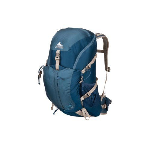 Gregory Women's Jade 28 Backpack by Gregory. $139.00. Auto-Fit harness system. Removable raincover in zippered pocket. Women's specific fit. Dual hydration ports and sleeve. New CrossFlo DTS Suspension. The large panel access to the main compartment and no frills functionality of the Jade 28 allows you to pack and get to all of your gear inside with ease. The expandable front pocket is great for stashing anything you need quick access to, like an extra layer or rain ...