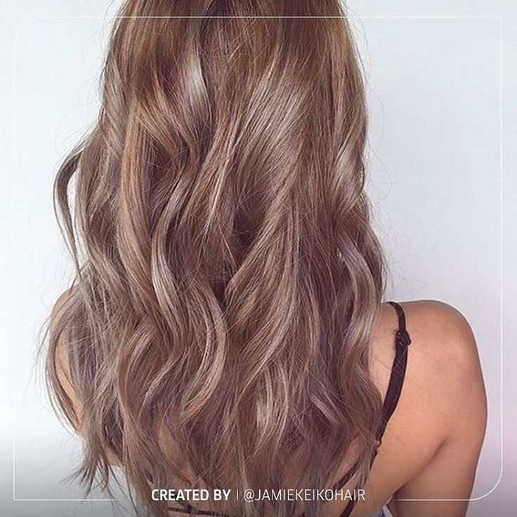It's Color Up Monday, and we are all about this pretty pastel mixed with soft greys and beiges! We love this look created by @jamiekeikohair ! Bravo! Want to know the formula? Wella Blondor Freelights with 12% developer. Toner: flash lift roots with Illumina 6/16 & 6/ (3:1) with 4% Color Touch Emulsion. Then mid-shaft to ends Color Touch 8/81 & 7/89 with 1.9% Color Touch Emulsion then tone with Muted Mauve #ColorUpMonday #pastelhair #greyhair #mauvehair #instabeauty #instastyle