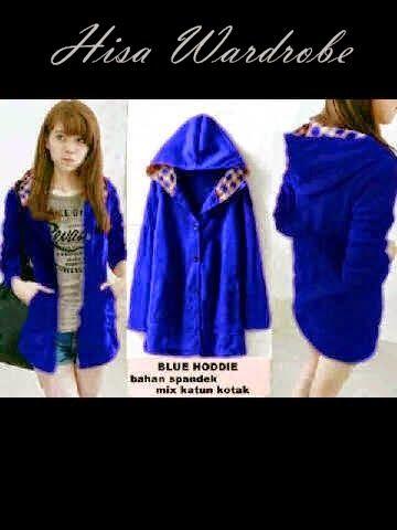 Hisa Wardrobe: Blue Hoodie