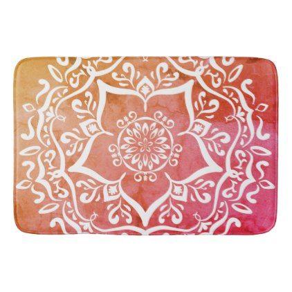 Special Edition Jarn Mandala Bathroom Mat - yoga health design namaste mind body spirit