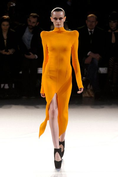 Thierry Mugler- Paris Fashion Week Fall 2012.