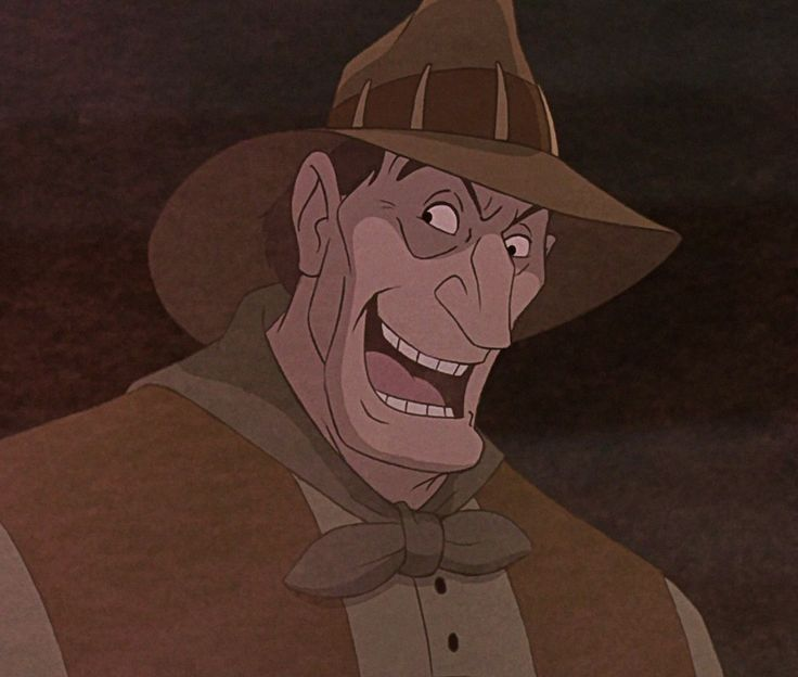 """Percival McLeach is the main antagonist in Disney's 1990 feature film The Rescuers Down Under, the sequel to the 1977 film The Rescuers. He is an evil and eccentric poacher who captures rare animals and sells them, usually for their hides. Truly cruel, he clearly enjoys killing animals, at one point even singing a twisted version of the song """"Home on the Range"""". He is an excellent hunter and tracker, and despite only having a third grade education, he is very intelligent, cunni..."""