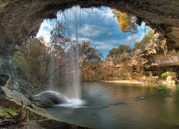 hamilton pool texas images | Beautiful natural hamilton pool austin texas