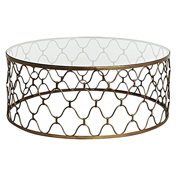 Sleek and glamorous, the Industria Uovo Coffee Table from GlobeWest offers the perfect lounge room accompaniment, its glass-top design adding light-reflective style.