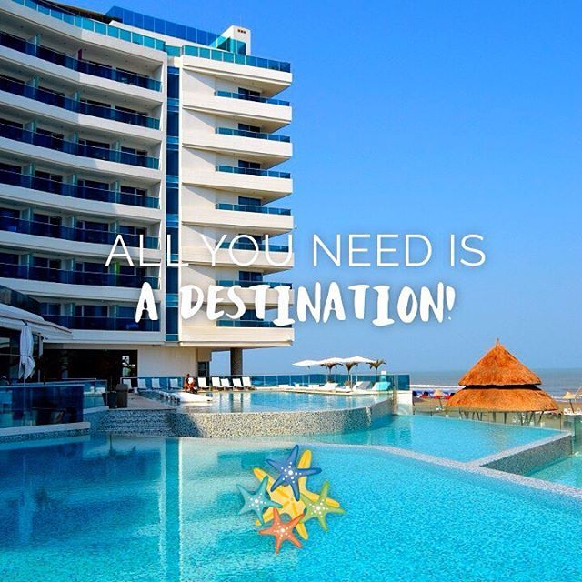 All you need is a destination!   www.hotellasamericas.com.co  #ElHoteldeLasEstrellas #Cartagena #ThePreferredLife #MondayMotivation #lifestyle #instapic #caribbean #WinterEscape #Defrost #Colombia