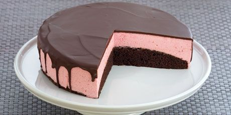 Chocolate Raspberry Mousse Torte