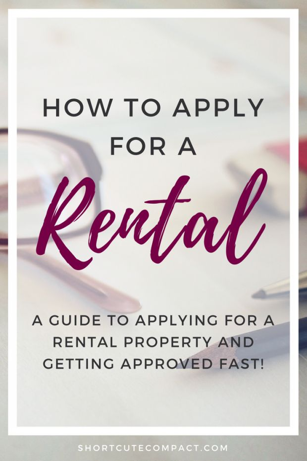 Everything you need to know about applying for a rental and getting approved quickly.