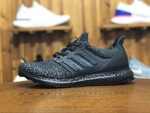 2225ab5590f Mens Adidas UltraBoost Clima Black Ash White CQ0022 Running Shoes ...