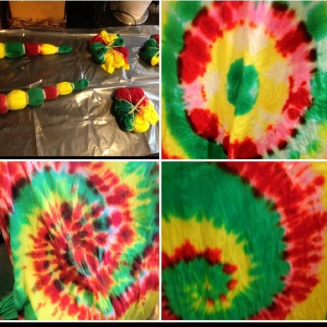 Tie Dye Rasta Style Crafts Rasta Party Jamaica Girls