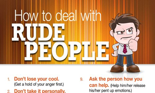 Rude People Articles