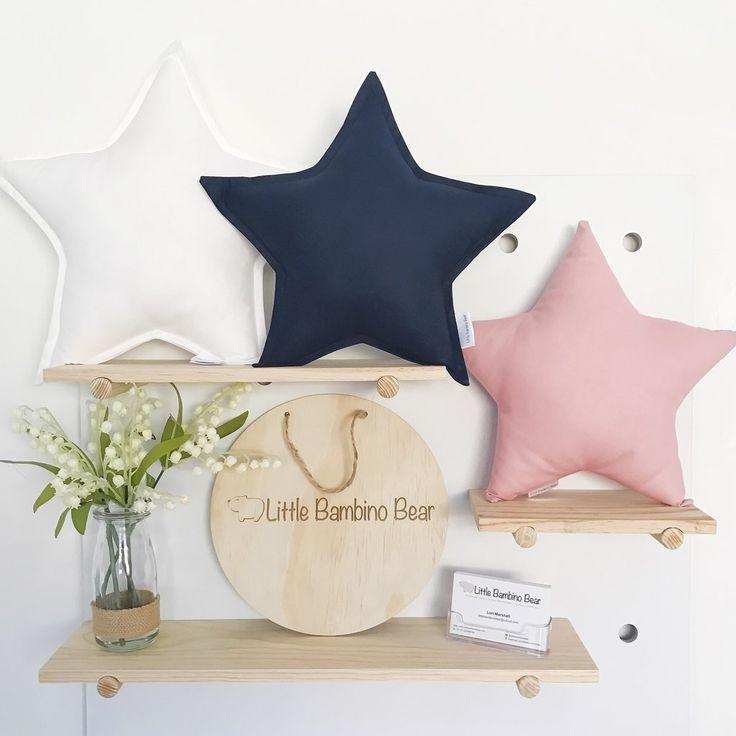 Cotton Star Cushion - Medium