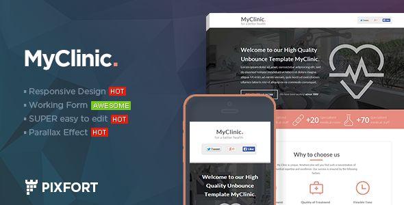 MyClinic - Medical HTML Landing Page