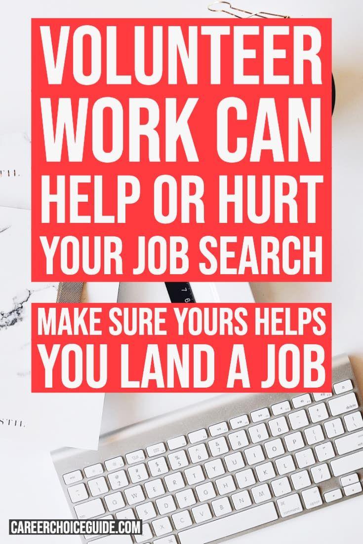 Do you include volunteer work on your resume? Volunteer