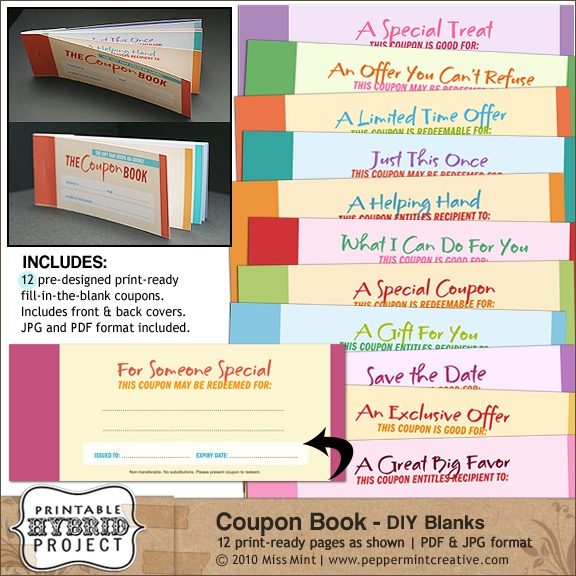 11 best coupon book images on Pinterest