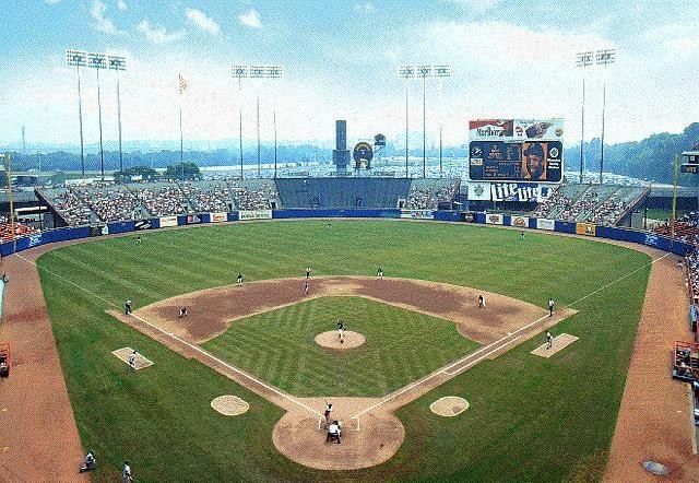 Milwaukee County Stadium     circa 1995