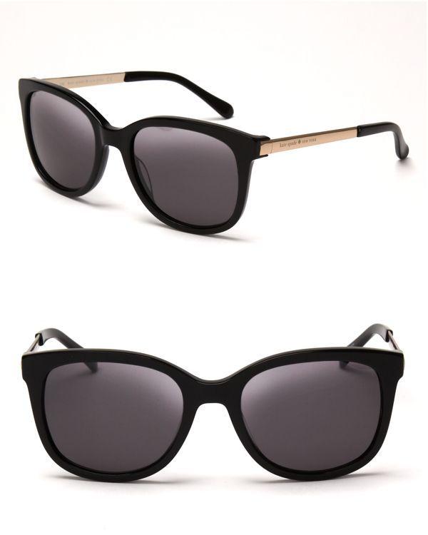 kate spade new york Gayla Sleek Wayfarer Sunglasses