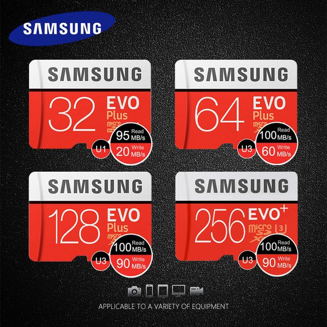 Samsung 64 GB MICRO SD XC MicroSDXC Karte EVO Class 10 UHS-1 Ultra High Speed