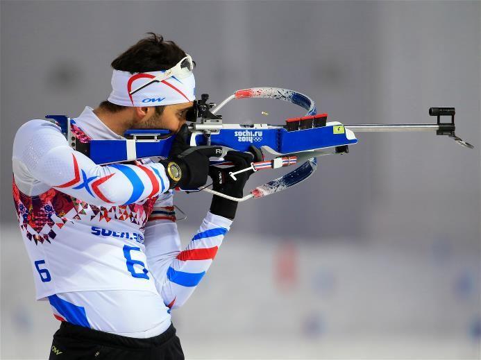 Sochi 2014 Day 4 - Biathlon Men's 12.5 km Pursuit Martin Fourcade of France competes in the Men's 12.5 km Pursuit