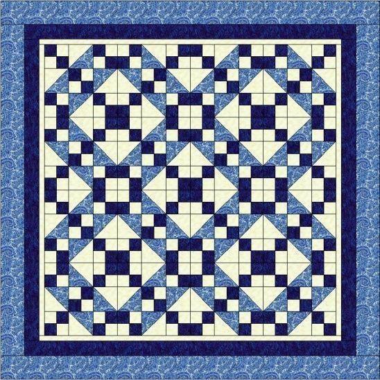 Quilt Patterns With 3 Fabrics : Meer dan 1000 afbeeldingen over burggeist op Pinterest - Quilt, Blokhutquilts en Quiltbenodigheden