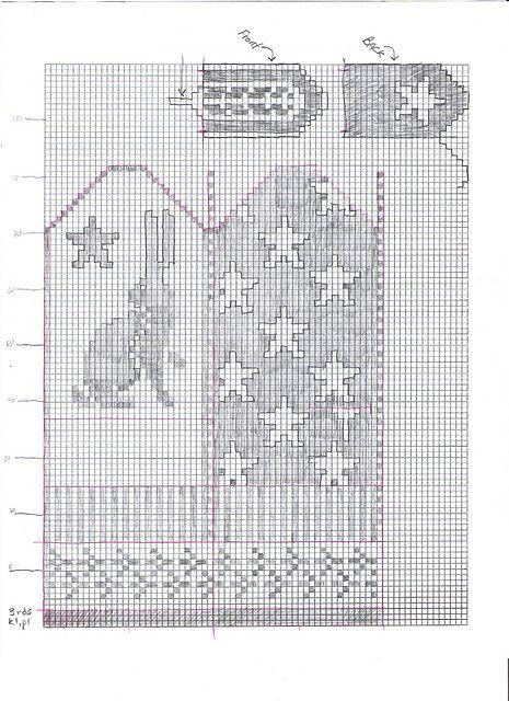 Ravelry: Bunny Mittens graph pattern by Tamsen Thistlehawk-Ranck