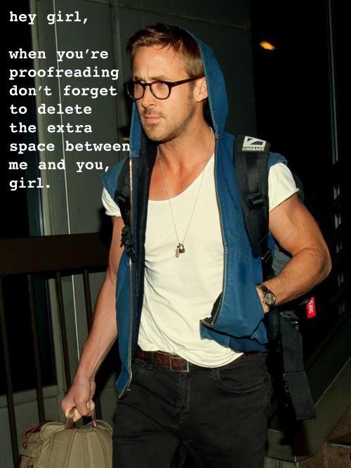 Hey girl ~ proofreading