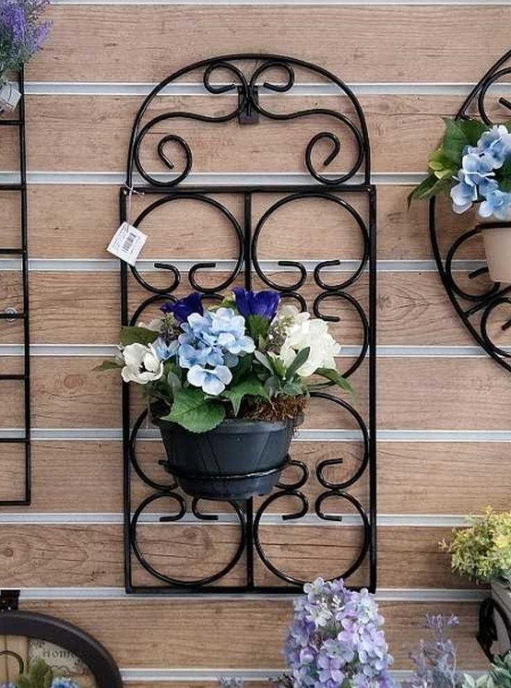 Grades em ferro para jardim vertical, Porta vasos, Grades decorativas, Prateleiras, Mão francesas, Home decor, Estilo Antigo Europeu.