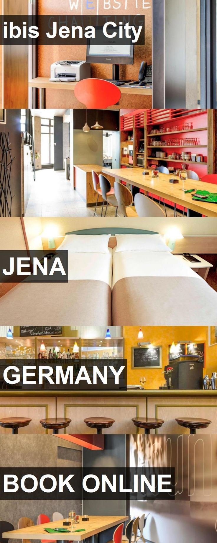 Hotel ibis Jena City in Jena, Germany. For more information, photos, reviews and best prices please follow the link. #Germany #Jena #ibisJenaCity #hotel #travel #vacation