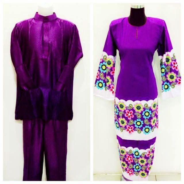 Syahida Online Shoppe: SET COUPLE Baju Melayu + Baju Kurung Modern Saiz S...