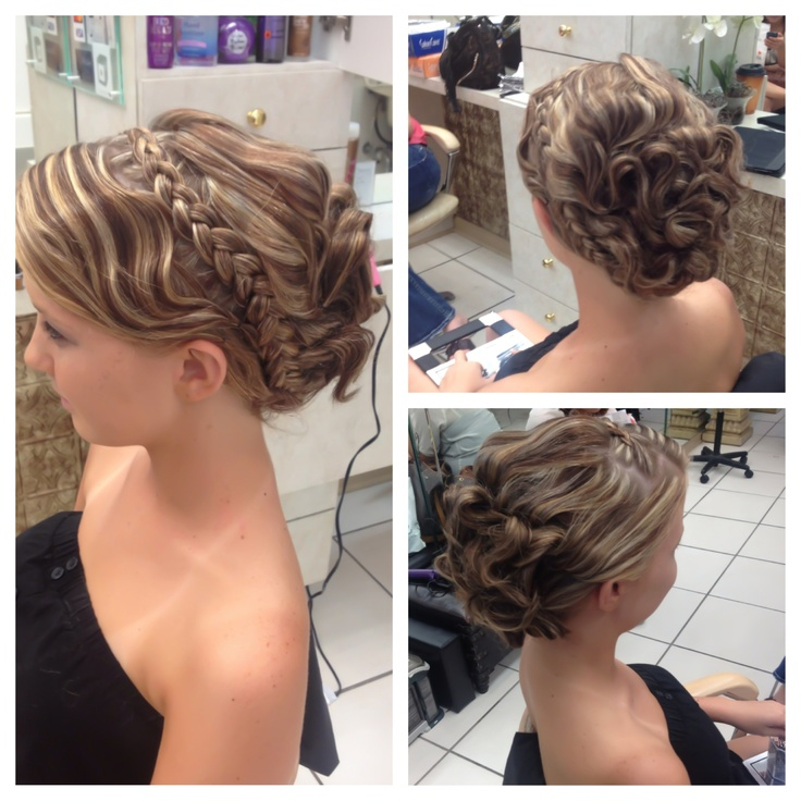 Fantastic 1000 Images About Prom Hair On Pinterest Prom Hairstyles Cute Short Hairstyles For Black Women Fulllsitofus