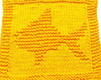 Knitting Cloth Pattern  BUTTERFLY  PDF by ezcareknits on Etsy