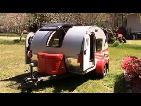 Custom Teardrop Trailer! Little Guy Camper T@G. - YouTube