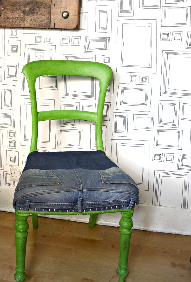 How to upcycle a Skruvsta Chair an IKEA hack