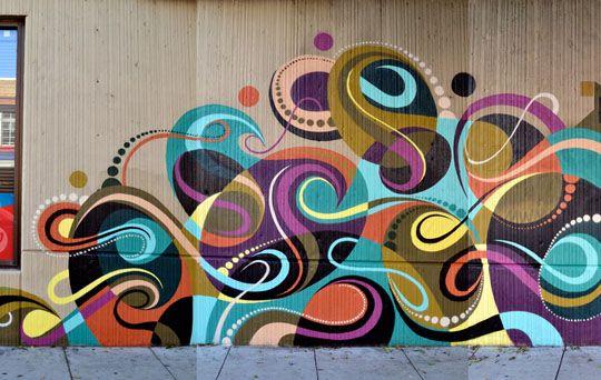 Matt W. Moore x Kofie Mural in San Francisco | MASHKULTURE